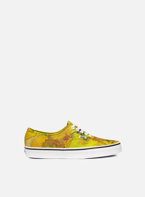 sneakers vans authentic vincent van gogh sunflowers