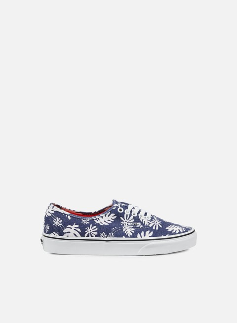 sneakers vans authentic washed kelp navy white