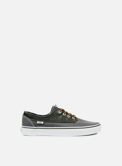 Vans - Brigata Leather/Plaid, Asphalt/Beluga 1