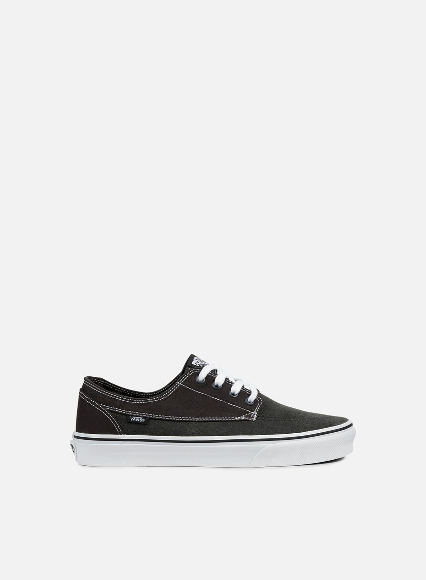 Vans - Brigata Washed Canvas, Pirate Black/White
