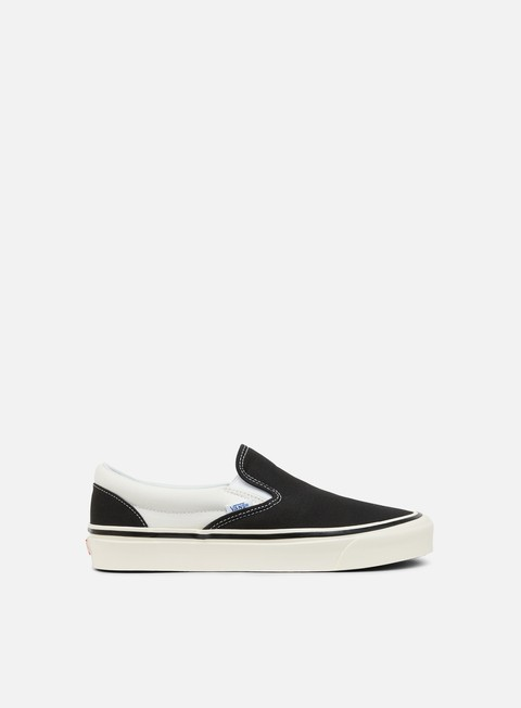 sneakers vans classic slip on 98 anaheim factory black white