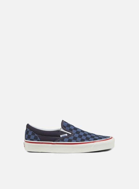 sneakers vans classic slip on 98 reissue 50th stv checkers navy