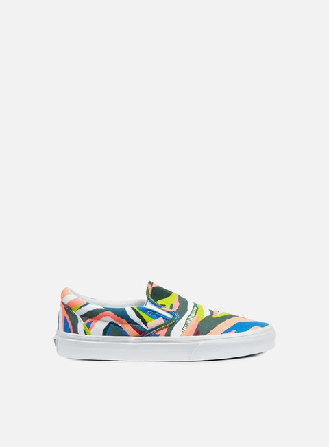 sneakers vans classic slip on abstract horizon multicolor