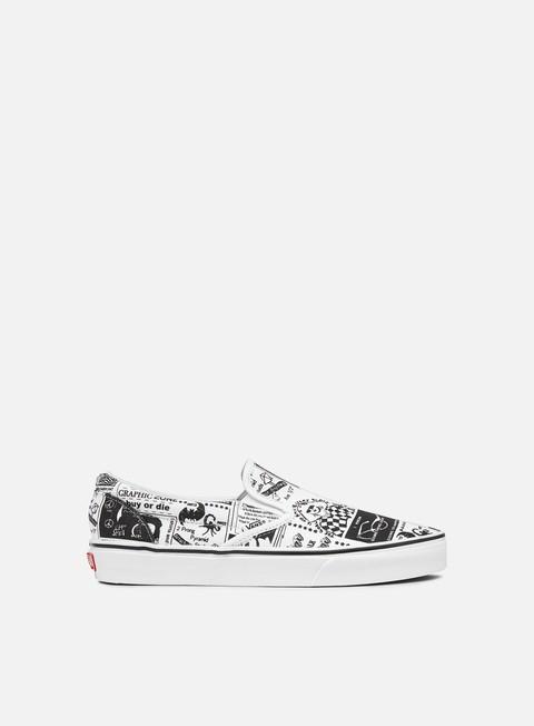 Sneakers da skate Vans Classic Slip-On Ashley Williams