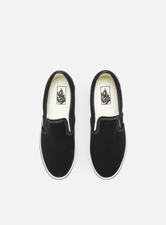 Vans - Classic Slip-On, Black/White 5