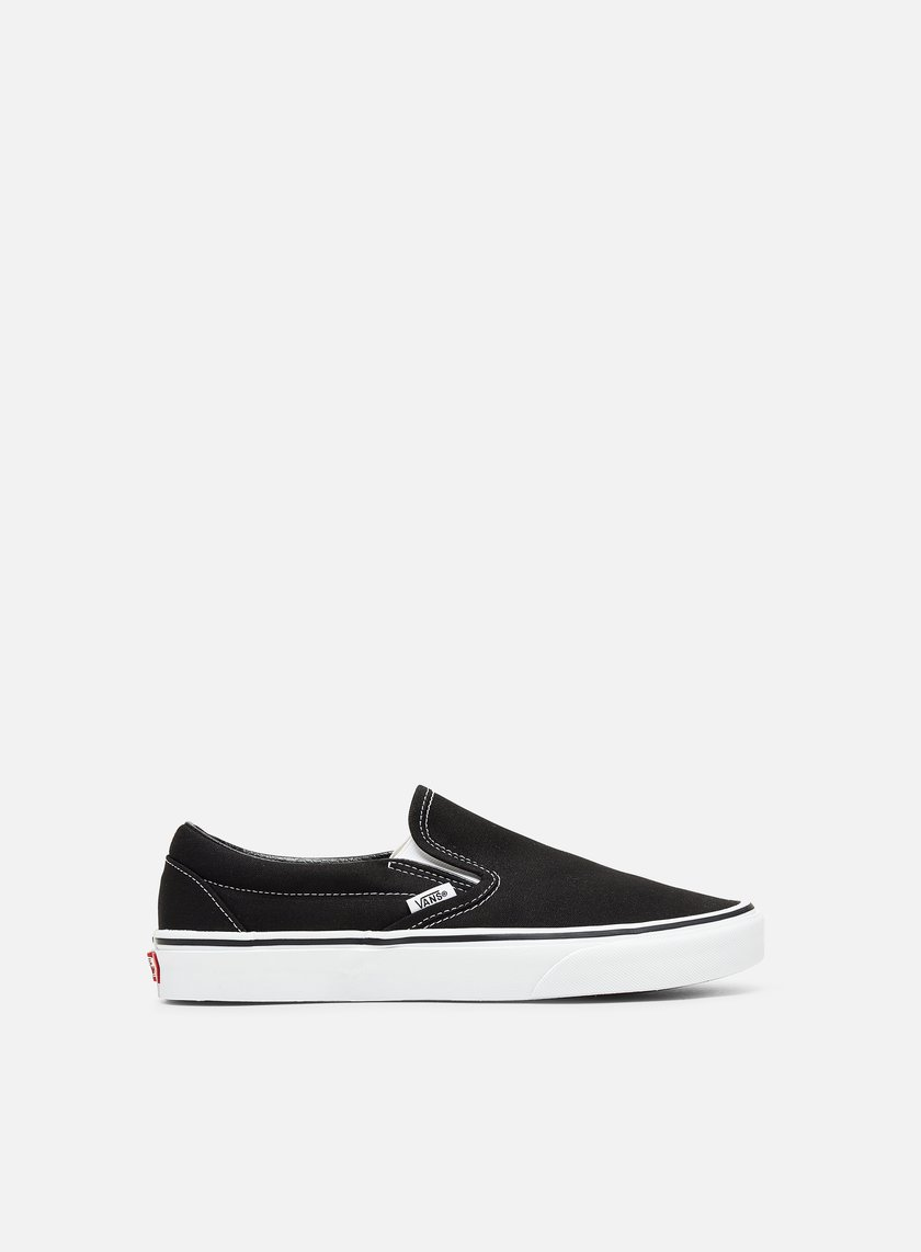 Vans - Classic Slip-On, Black/White