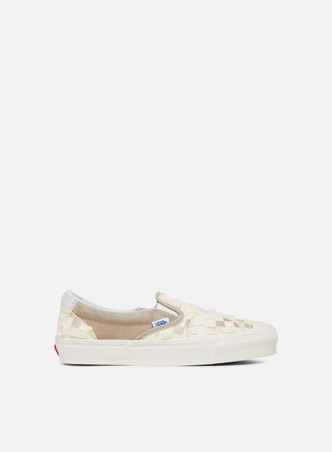 Outlet e Saldi Sneakers Basse Vans Classic Slip-On Bricolage LX