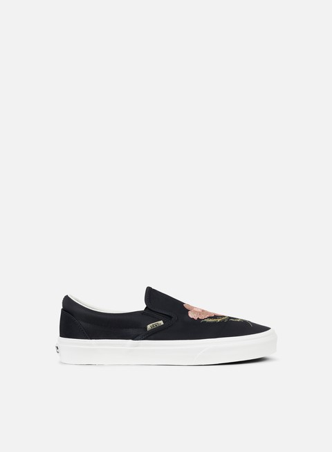 sneakers vans classic slip on california souvenir black