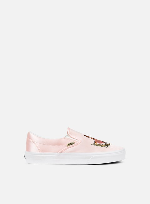 sneakers vans classic slip on california souvenir rose