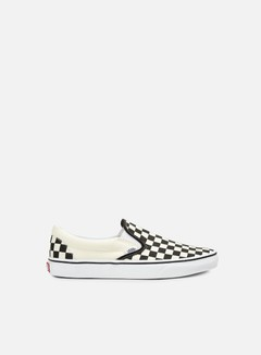 Vans - Classic Slip-On Checkerboard, Black/White
