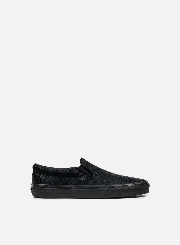 Vans - Classic Slip-On DX Reptile, Black