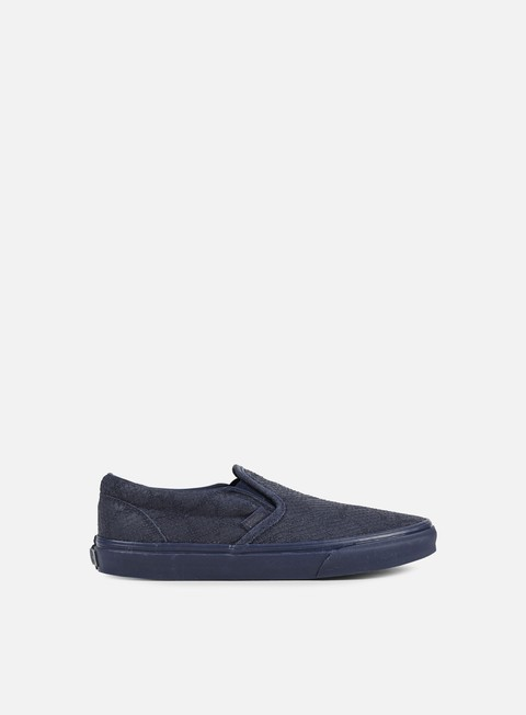 sneakers vans classic slip on dx reptile navy