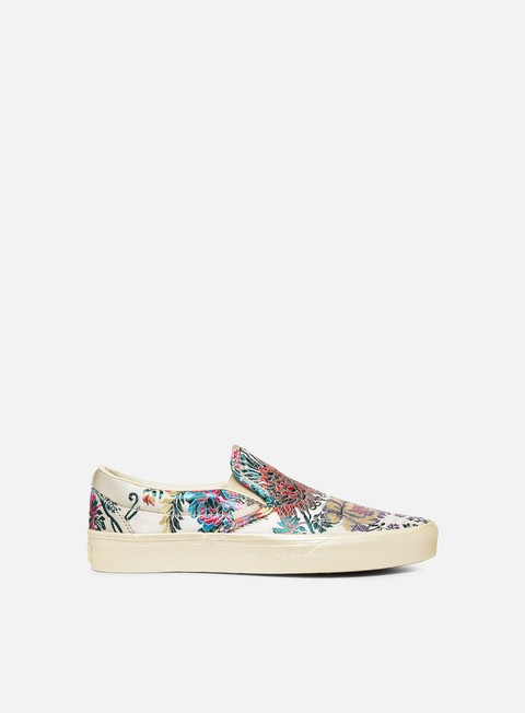Outlet e Saldi Sneakers Basse Vans Classic Slip-On Festival Satin