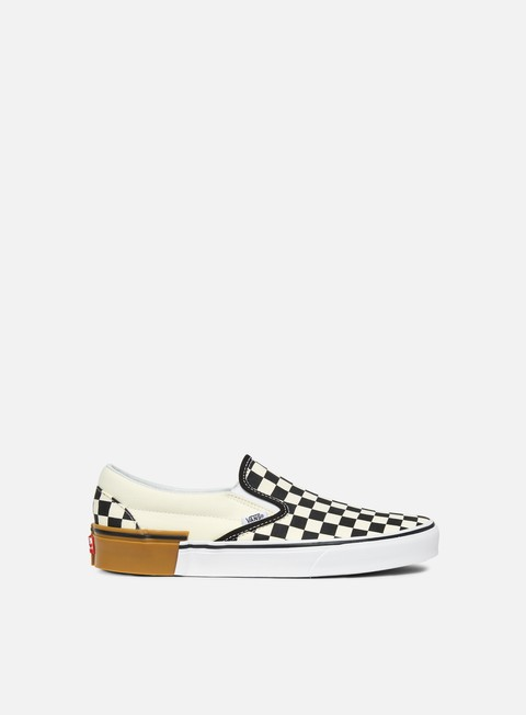 sneakers vans classic slip on gum block checkerboard
