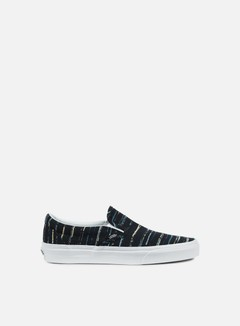 Vans - Classic Slip-On Italian Weave, Black/Multi 1