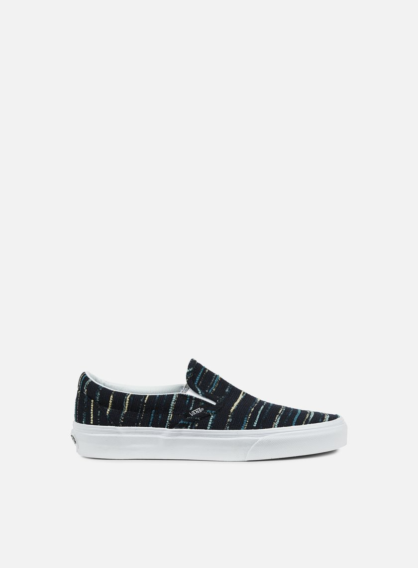 Vans - Classic Slip-On Italian Weave, Black/Multi