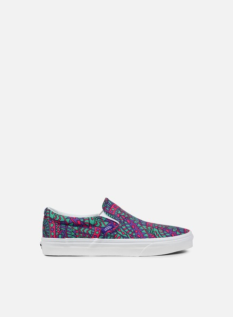 sneakers vans classic slip on liberty satchmo true white