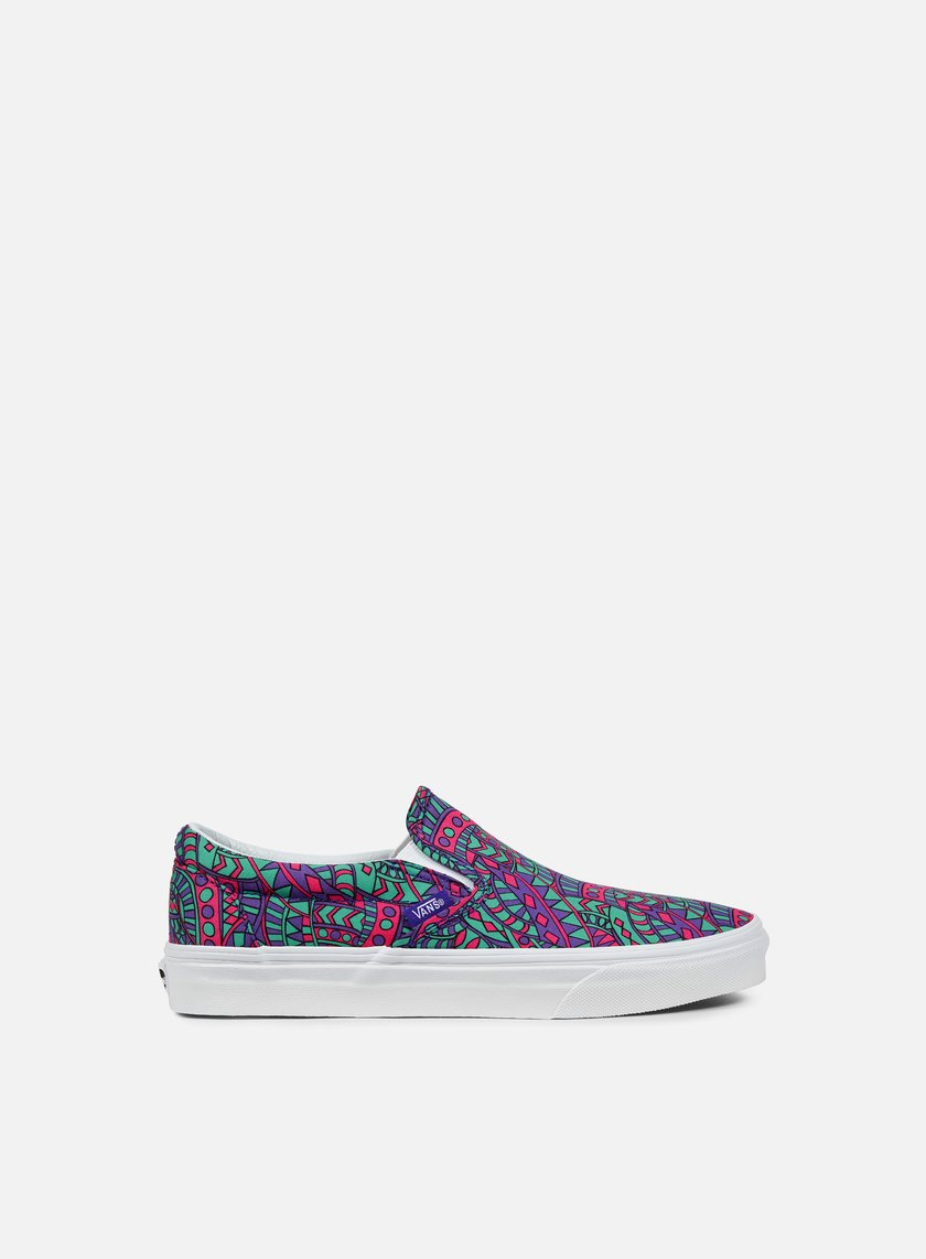 Vans - Classic Slip-On Liberty, Satchmo/True White