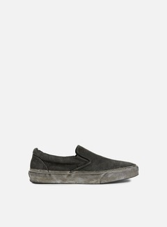 Vans - Classic Slip-On Overwash Paisley, Black 1