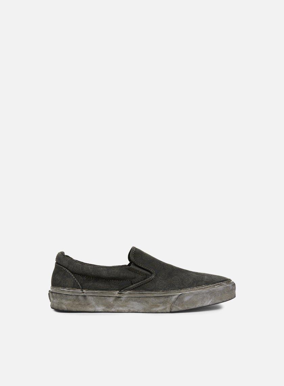 Vans - Classic Slip-On Overwash Paisley, Black