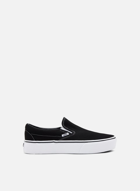 sneakers vans classic slip on platform black