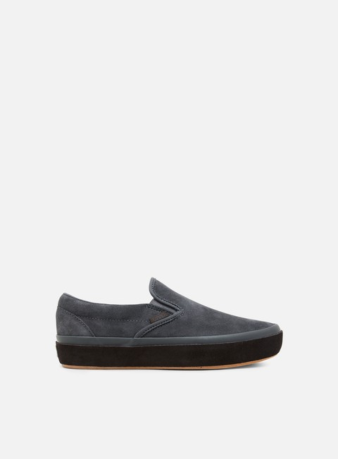 Low Sneakers Vans Classic Slip-On Platform Suede Outsole