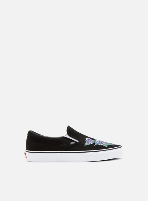 Outlet e Saldi Sneakers Basse Vans Classic Slip-On Rose Thorns