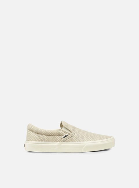 Outlet e Saldi Sneakers Basse Vans Classic Slip-On Snake Leather