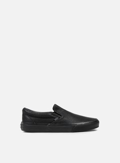 Vans - Classic Slip-On Snake Leather, Black 1