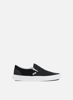 Vans - Classic Slip-On Suede Checkers, Black 1