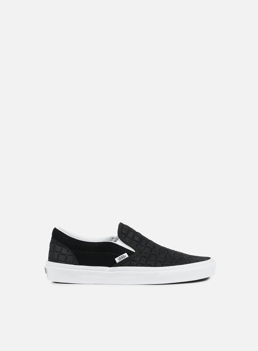 Vans - Classic Slip-On Suede Checkers, Black