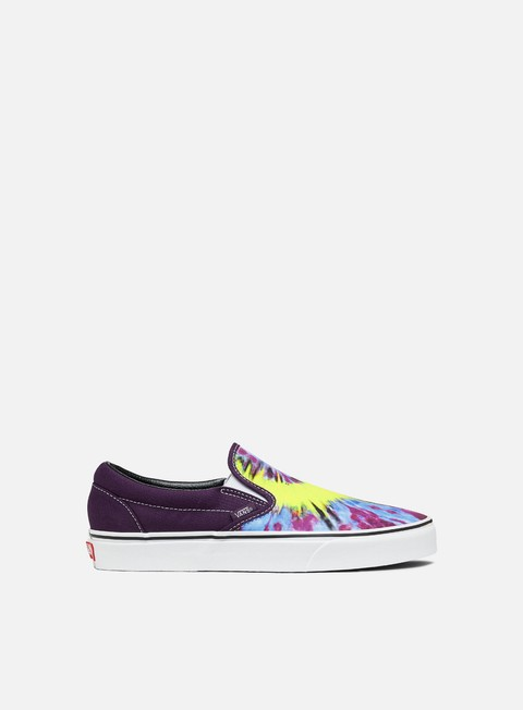 Outlet e Saldi Sneakers Basse Vans Classic Slip-On Tie Dye