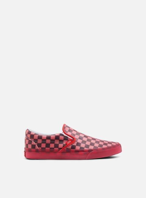 sneakers vans classic slip on translucent rubber hibiscus