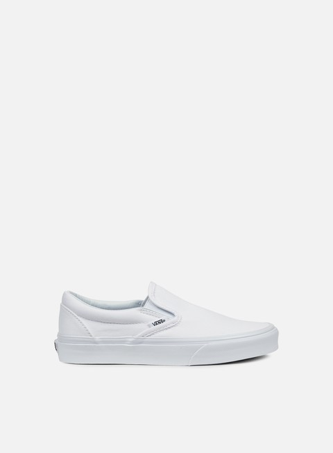sneakers vans classic slip on true white