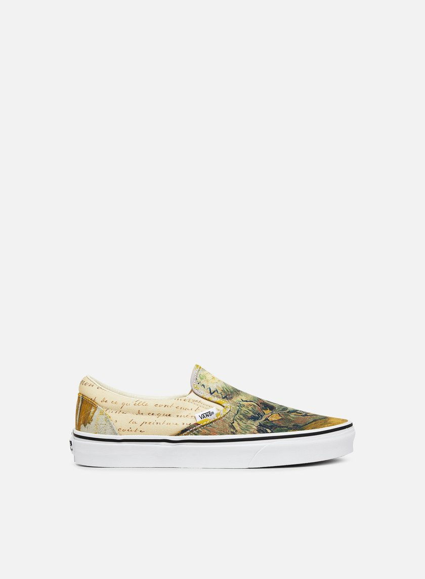 Vans Classic Slip On Vincent Van Gogh Skull Graffitishop