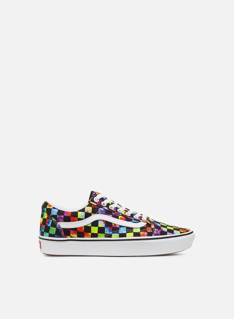 Vans ComfyCush Old Skool Tie-Dye Checker