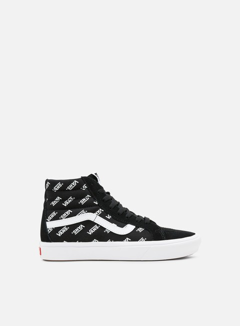 Outlet e Saldi Sneakers Alte Vans ComfyCush Sk8 Hi Distored Logo