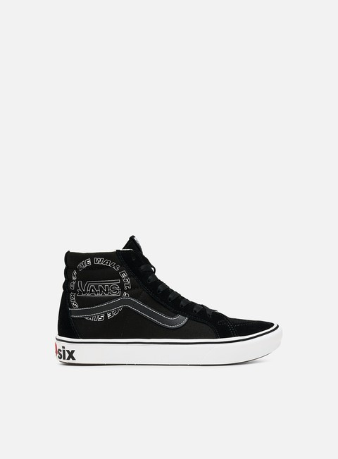 Vans ComfyCush Sk8 Hi Distorted