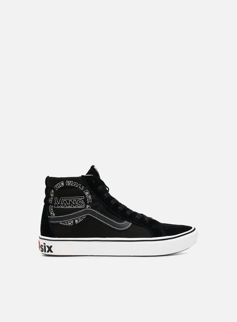 Outlet e Saldi Sneakers Alte Vans ComfyCush Sk8 Hi Distorted