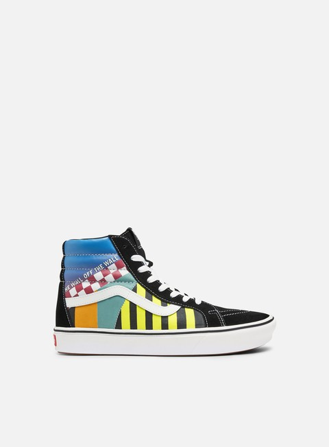 Sneakers Alte Vans ComfyCush Sk8 Hi Mash Up