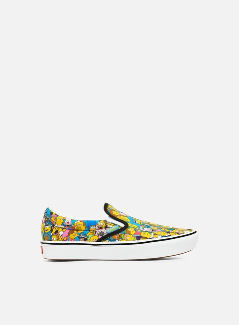 Sneakers da Skate Vans ComfyCush Slip-On The Simpsons