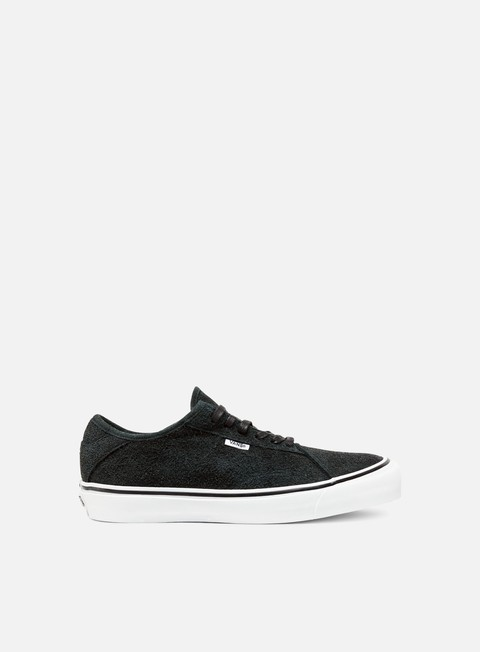 sneakers vans diamo ni hairy suede black true white