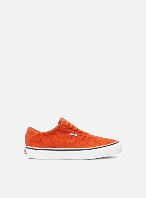 sneakers vans diamo ni hairy suede pureed pumpkin true white