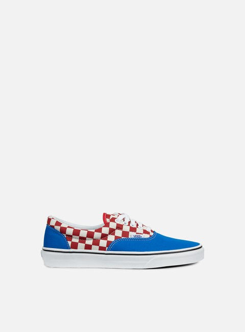 sneakers vans era 2 tone check imperial blue