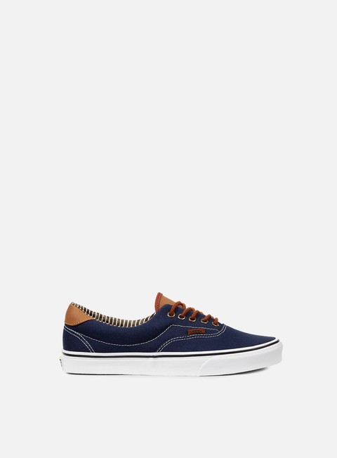 sneakers vans era 59 c and l dress blues stripe denim