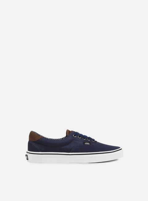 sneakers vans era 59 cord e plaid dress blues