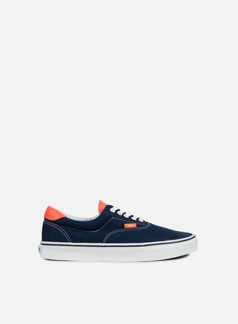 sneakers vans era 59 neon leather dress blue
