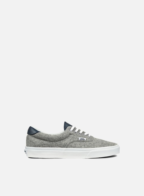 sneakers vans era 59 varsity gray true white