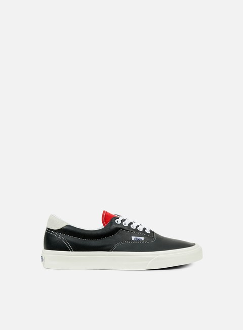 sneakers vans era 59 vintage sport black racing red