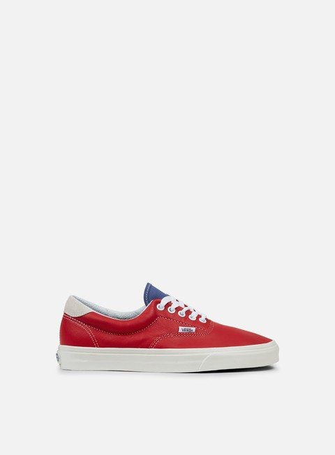 sneakers vans era 59 vintage sport racing red bijoux blue